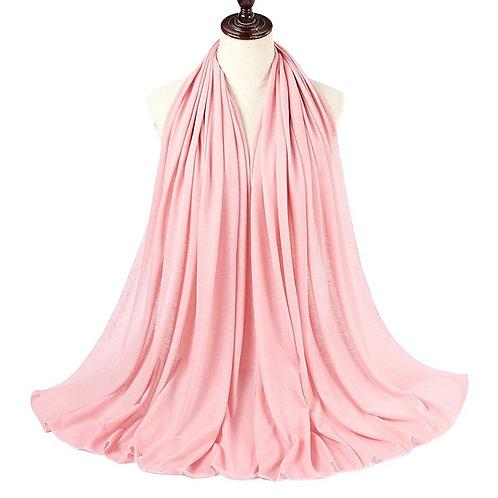 Pink everyday Jersey hijab