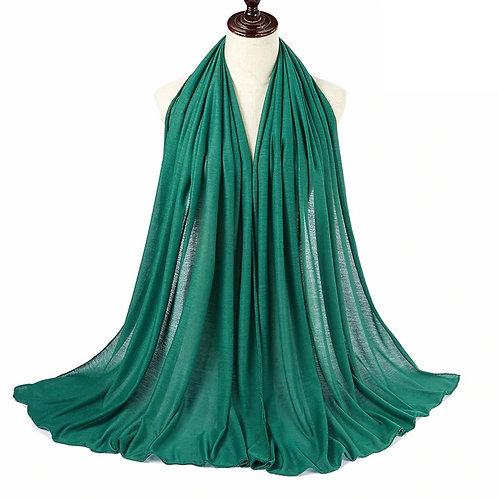 Emerald every day Jersey hijab