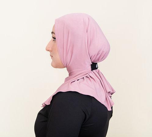 Mauve Asfurah Action Sport Hijab