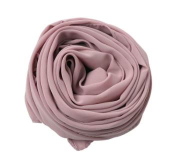 Lilac Mauve Georgette Hijab
