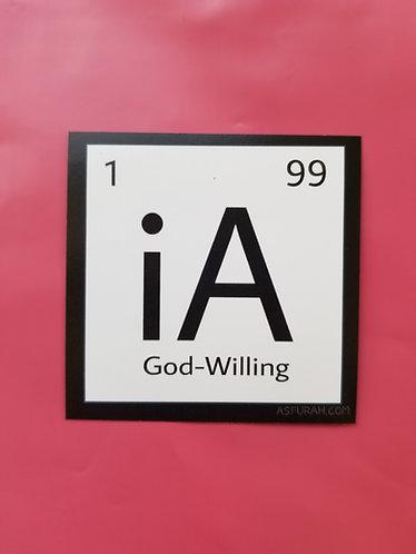 iA sticker