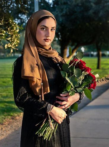 Dubai Tassle Georgette Hijab