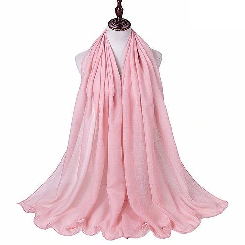 Pink Viscose hijab