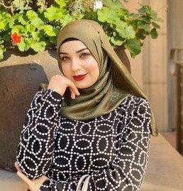 Forest Green Textured Silk Hijab