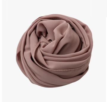 Fading Rose Georgette Hijab