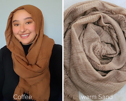 Cotton Crinkle Hijabs (23 colors)
