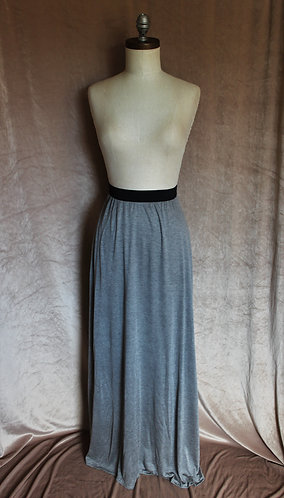 Sport Grey High-Waist Skirt