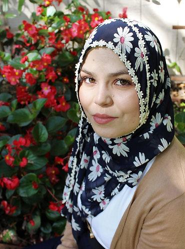 Daisy Chiffon Hijab