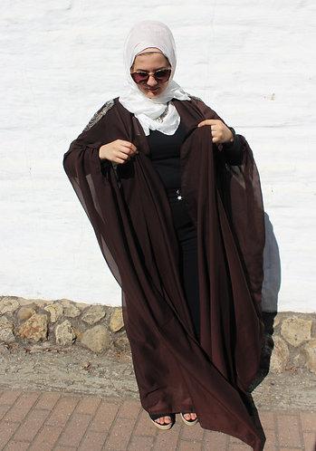 Sheba Kimono-Dark Brown