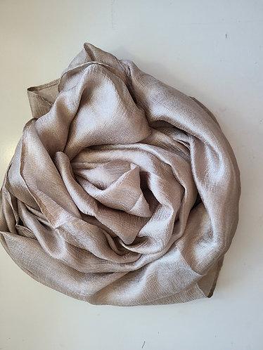 Tuape textured silk Hijab