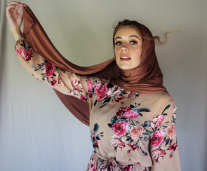 Sienna Jersey Hijab + Sweet Summa Dress