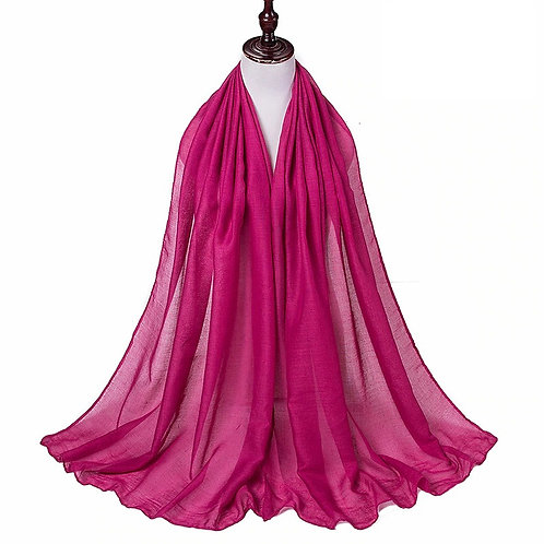 Berry Viscose Hijab