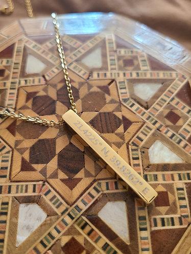 Kaba Coordinates necklace