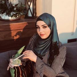 Turquise Silk hijab