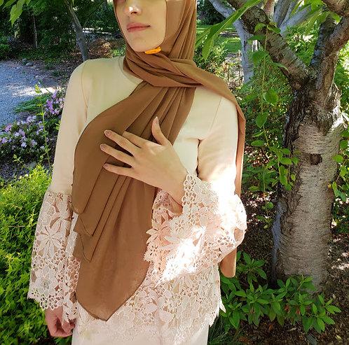 Mehndi Green Georgette hijab