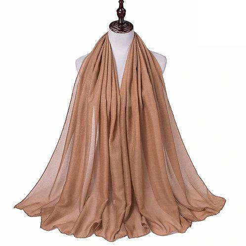 Camel Viscose Hijab