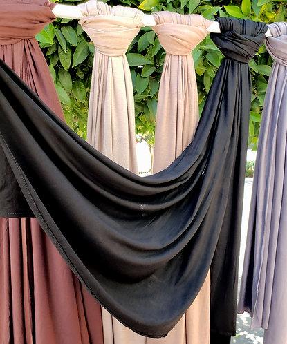 Black Silky Jersey