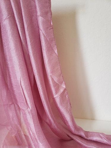 Pink lavender Textured Silk Hijab