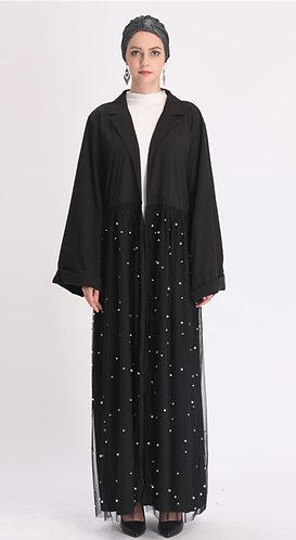 Tulle Skirt Abaya