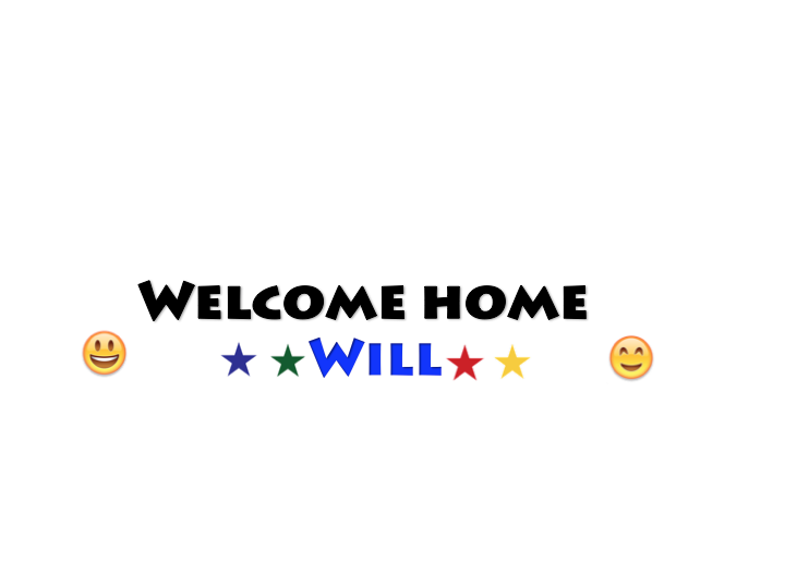 Adoption Welcome Home