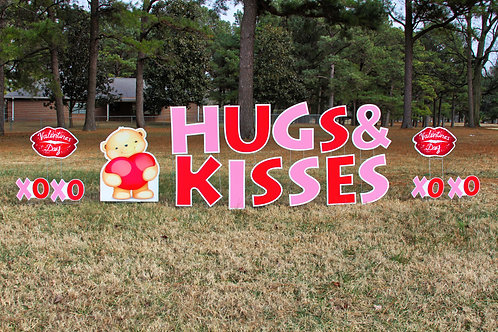 Hugs and Kisses Valentine's Day Package