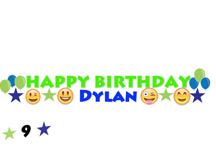 Happy Birthday Yard Card