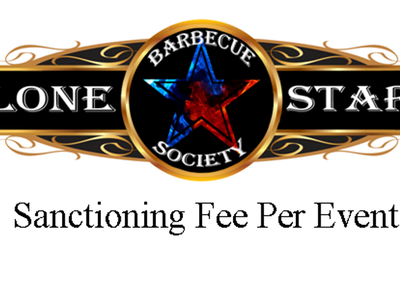 Sanctioning Fee Per Event