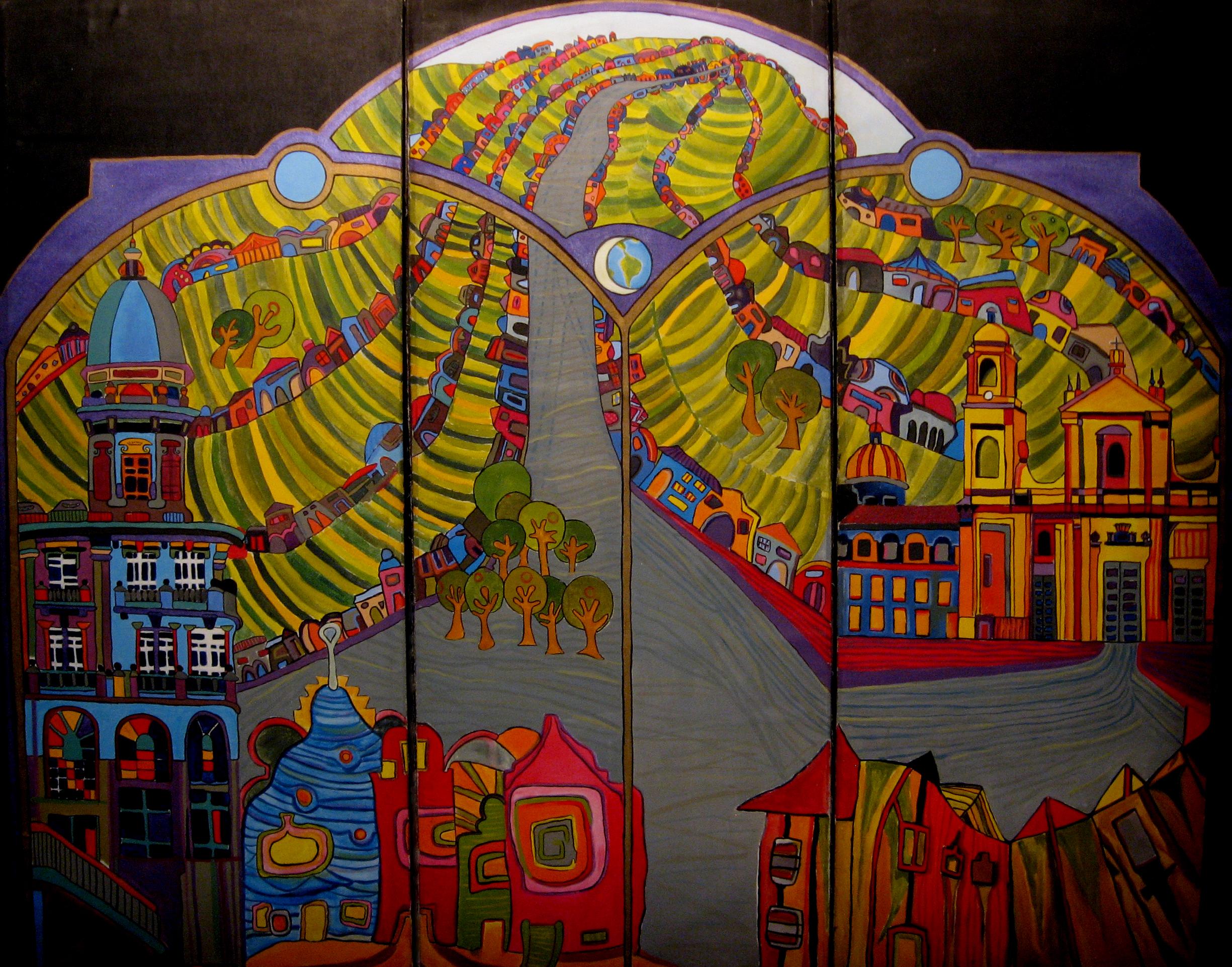 Bogotá Hundertwasser