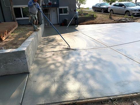 Concrete Installation