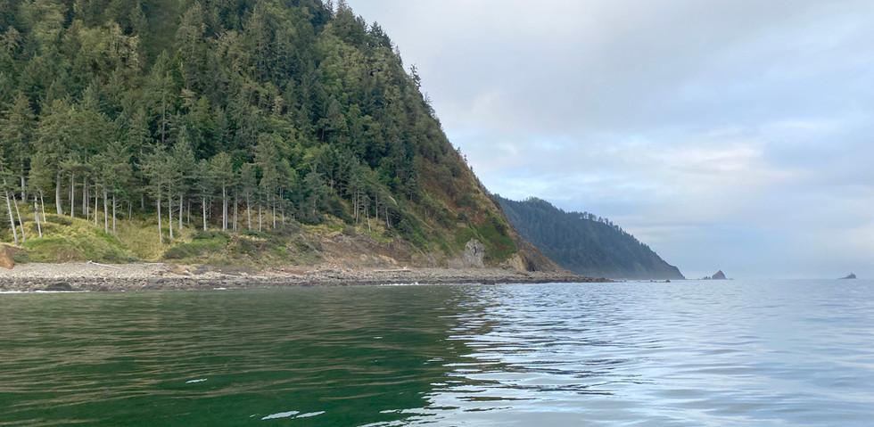 Tillamook Head from the Ocean
