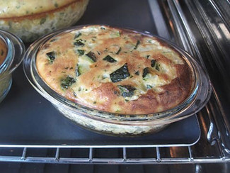 Flan courgette