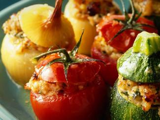 Légumes farcis à la Viande