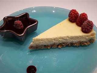 Cheesecake au coulis de fruit