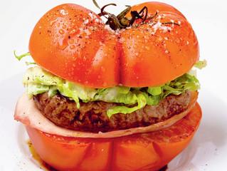 Burgers à la tomate