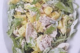 Salade d'ananas au poulet