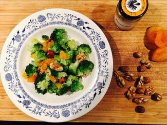Salade de Brocoli aux fruits secs