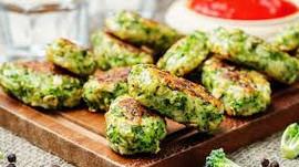 Croquettes au brocoli et parmesan