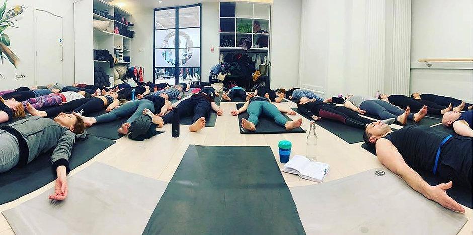 yoga pose shavasana corpse pose