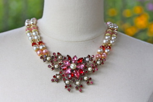 Strawberry Fields - Statement Necklace
