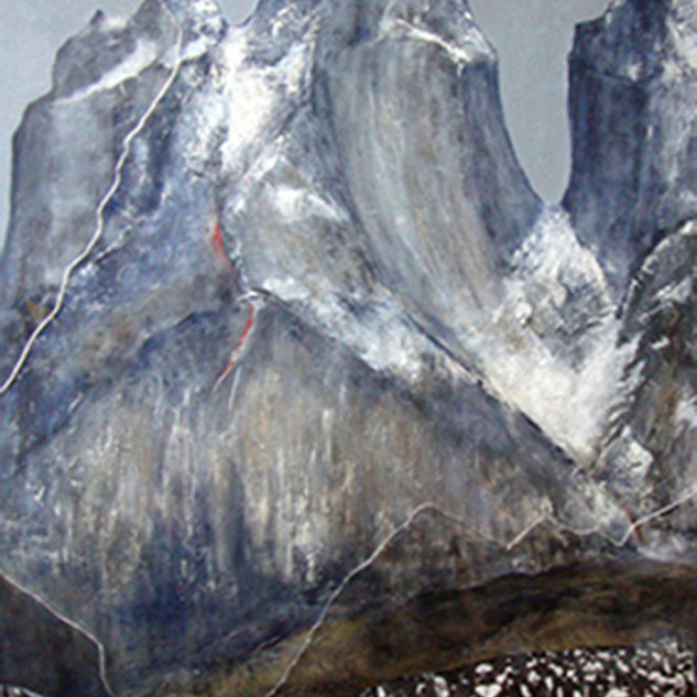 """Torres del Paine"" Serie Calentamiento Global, SOLD"