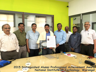 Congratulations to Dr. Alfred Kalyanapu