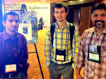 TechWARMS members finish third in ASFPM's 5th National Student Paper Competition