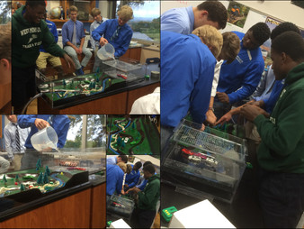 TechWARMS visits McCallie School in Chattanooga