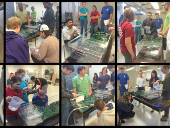 CEE 1020 students engage in floodplain modeling activity