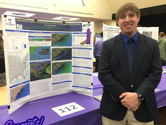 TechWARMS's John Brackins wins EWRI Student Paper Award and TTU's CEE UG Best Research Poste