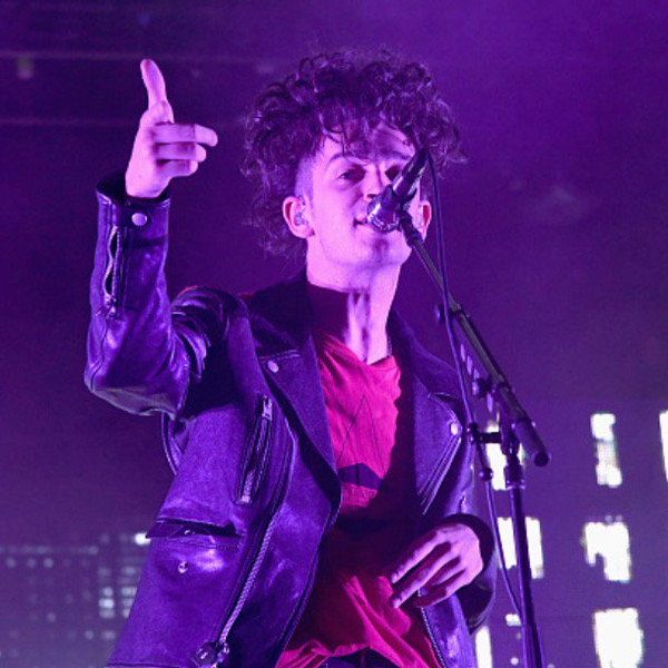 Matt Healy from the 1975 for the Meadowlands Festival