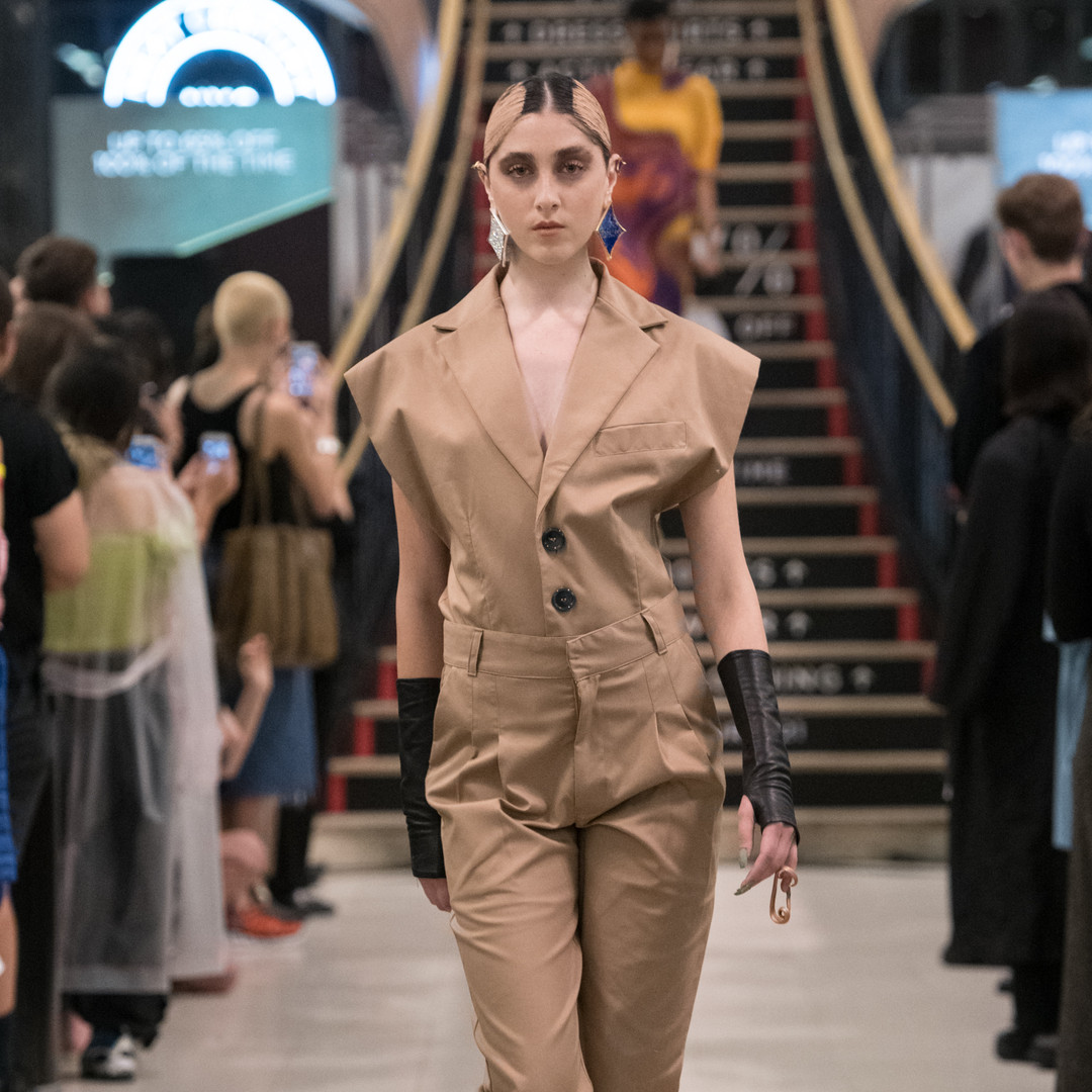 BARRAGAN NYFW 2019 S/S hair direction by ME