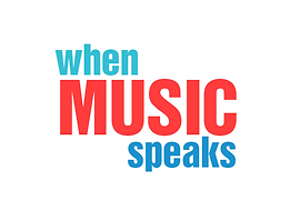 When Music Speaks logo
