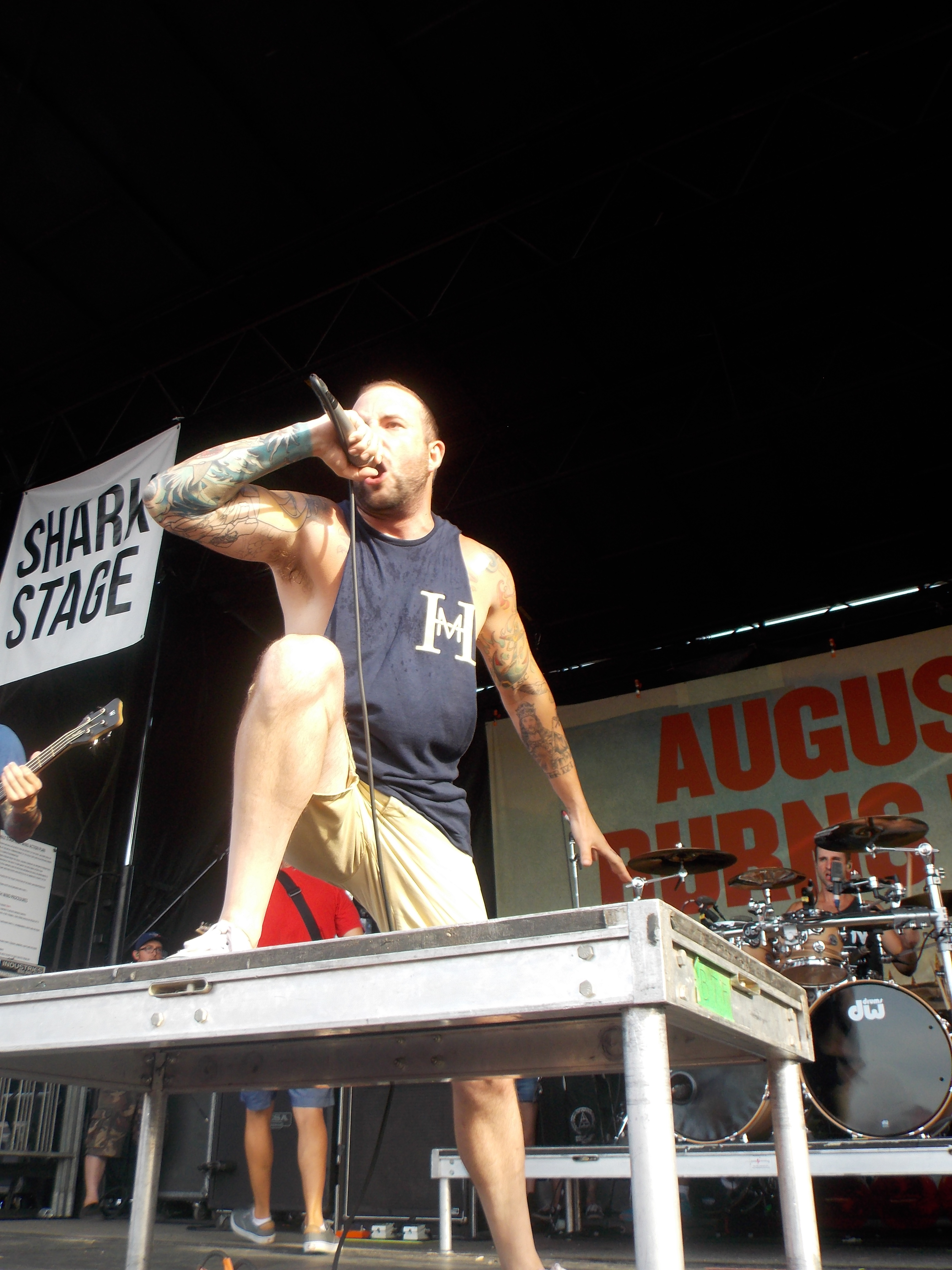 Jake Luhrs of August Burns Red