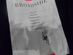 Broadside set list